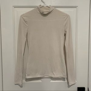 FOREVER 21 fitted turtleneck S
